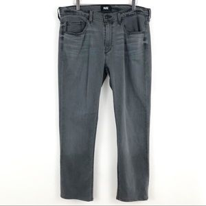 PAIGE Mens Federal Gray Straight Leg Jeans 34 x 27